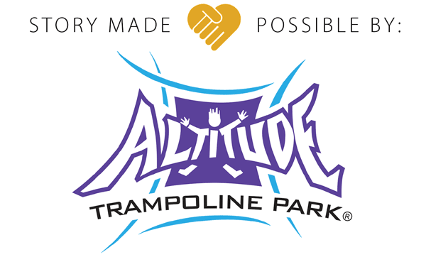 Story made possible by: Altitude Trampoline Park