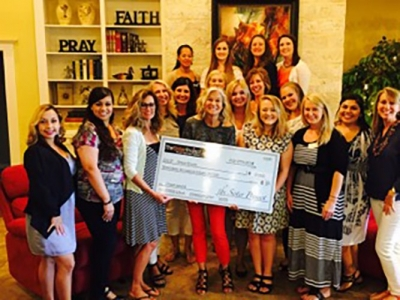 Grace House Receives $17,000 Gift from Local Organization