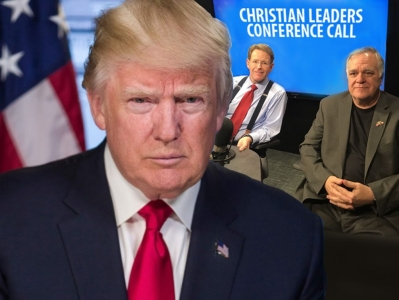 President Trump and staff hold conference calls with faith leaders