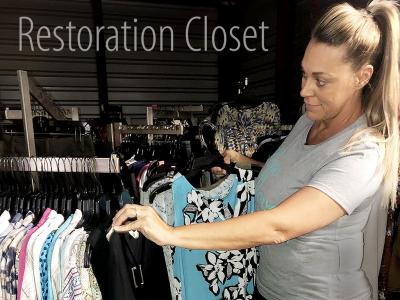 Tell Your Story: Restoration Closet