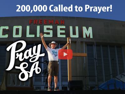 PraySA event sees 200,000 called to prayer