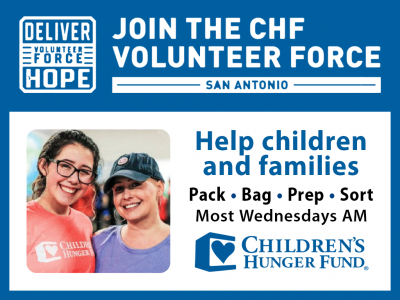 Children's Hunger Fund — Volunteer Wednesdays